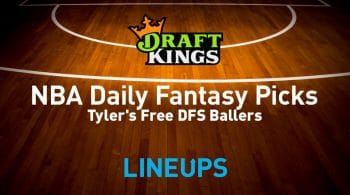 NBA DraftKings DFS Lineup Picks 1/25/21