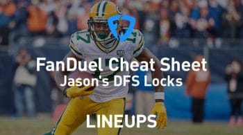 FanDuel NFL Conference Round Cheat Sheet: Daily Fantasy Rankings, Projections, Stacks (Download Free)