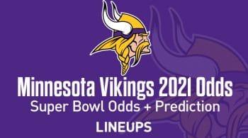 Minnesota Vikings Super Bowl Odds 2021