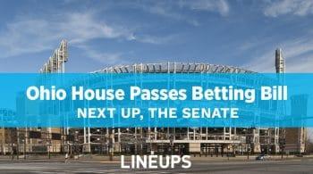Ohio House Passes Sports Betting Bill