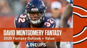 David Montgomery Fantasy Football Value & Outlook 2020