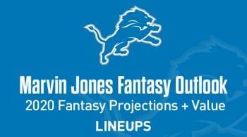 Marvin Jones Fantasy Football Outlook & Value 2020
