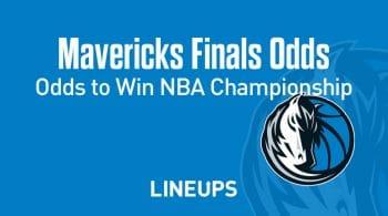 Dallas Mavericks NBA Championship Odds 2020