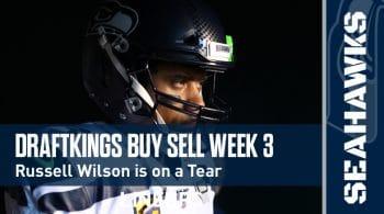 DraftKings NFL Week 3 Buy Sell + Optimal DFS Lineups