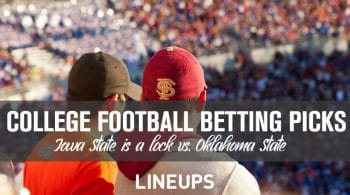 College Football Free Betting Picks: Five Best Bets (Iowa State a Lock)