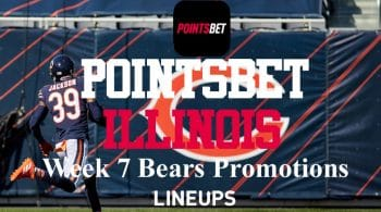 PointsBet Illinois Week 7 NFL Promos: Bears Betting Pick with -105 Odds