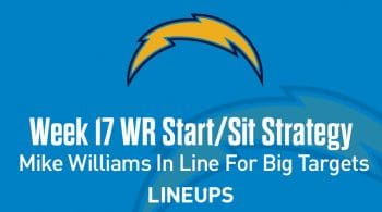 Week 17 WR Start, Sit Fantasy Strategy: Mike Williams In Line For Big Targets