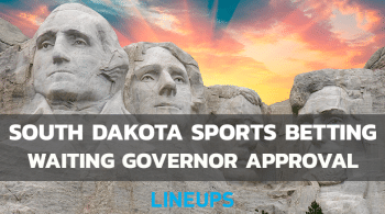 Sports Betting Heads to Governor's Desk in South Dakota