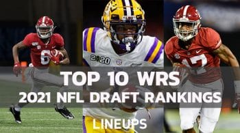 Top 10 WR NFL Draft Prospects 2021