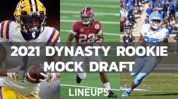 2021 NFL Dynasty Rookie Mock Draft