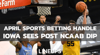 Iowa Sees Expected Drop In April Sports Betting Handle