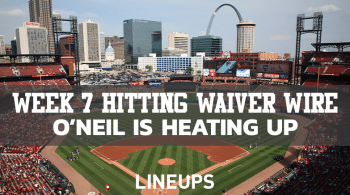 MLB Week 7 Hitting Waiver Wire: Someone Is Heating Up In St. Louis