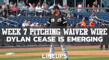 MLB Week 7 Pitching Waiver Wire: Another White Sox Pitcher Is Turning Heads
