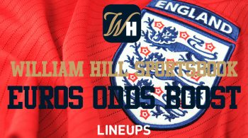 William Hill Sportsbook: Boosted +2200 odds on England and France Euro Finalists