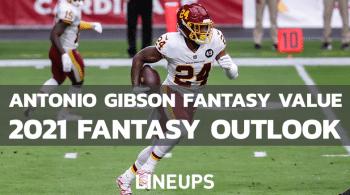 Antonio Gibson Fantasy Football Outlook & Value 2021