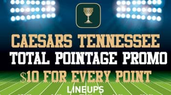 Caesars Tennessee: How To Get $1 For Every Point on Thursday Night Footaball