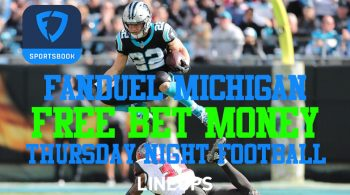 FanDuel Michigan Users Bet $20 on a Parlay, Get $10 Back