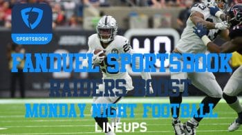 FanDuel Sportsbook Boosting Raiders To Cover and a Josh Jacobs TD