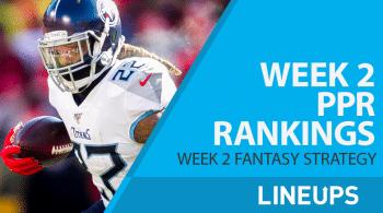 NFL Week 2 PPR Rankings: Aaron Jones, Derrick Henry, Ezekiel Elliott to Bounce Back