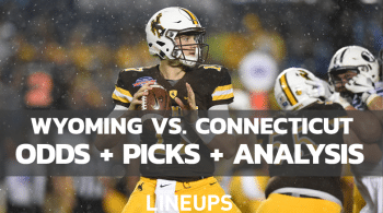 Wyoming vs Connecticut: Betting Odds, Picks, & Predictions (9/25/21)