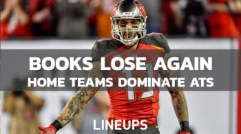 Sportsbooks Lose Third Straight NFL Sunday