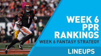 NFL Week 6 PPR Rankings: Ja'Marr Chase Has Arrived as a Top Ten WR