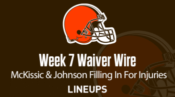 Week 7 Waiver Wire Top Pickups & Adds: McKissic The Favorite Back In Washington
